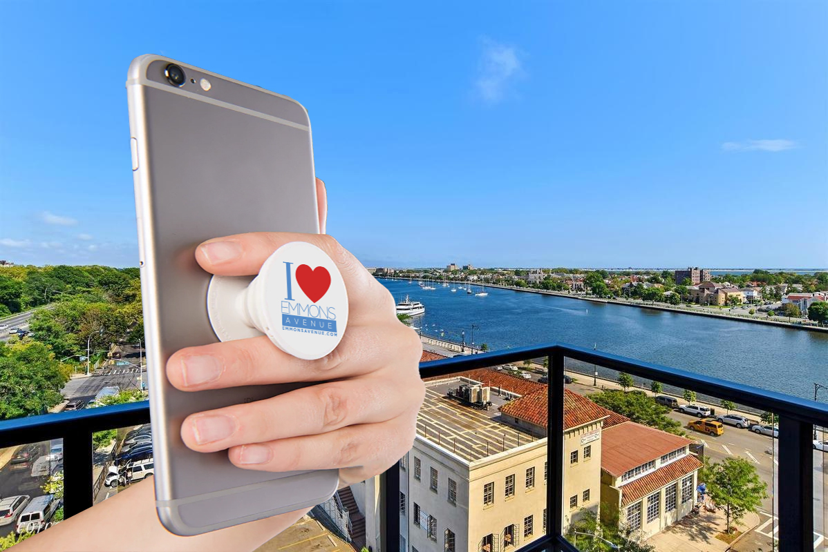 I Love Emmons Avenue Pop Socket for Supporters Donations